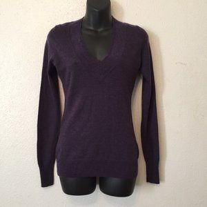 The Limited V Neck Sweater Wool Blend